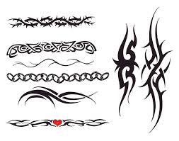 Celtic Cross Tattoos Tribal Armband Designs