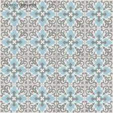 cheverny blanc encaustic cement wall and floor tile 8 x 8 in