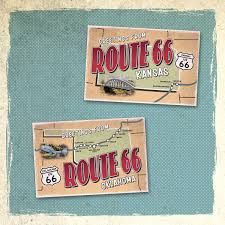 Amazoncom Ultimate Collection Of Route 66 State Map Postcards