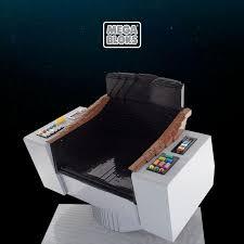 Star Trek Captains Chair by The Trek Collective First Mega Bloks Star Trek Construction Sets