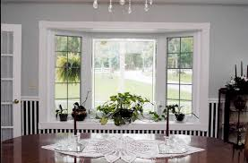 Windows Blinds For Bow Decorating Living Room Bay Window Designs