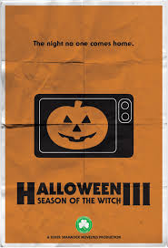 Halloween Iii Season Of The Witch Poster by The Horrors Of Halloween Watch The Magic Pumpkin