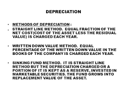 Sinking Fund Formula For Depreciation by M Syed Kunmir Spbt College Ppt Download