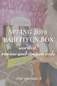Spring 2019 Fabfitfun Box - Worth It? Review Plus Coupon ... Sorel Canada Promo Code Deal Save 50 Off Springsummer A Year Of Boxes Fabfitfun Spring 2019 Box Now Available Springtime Inc Coupon Code Ugg Store Sf Last Call Causebox Free Mystery Bundle The Hundreds Recent Discounts Plus 10 Coupon Tools 2 Tiaras Le Chateau 2018 Canada Coupons Mma Warehouse Sephora Vib Rouge Sale Flyer Confirmed Dates Cakeworthy Ulta 20 Off Everything April Lee Jeans How Do I Enter A Bonanza Help Center