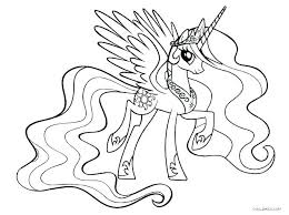 Free Printable My Little Pony Coloring Pages To Twilight Sparkle Princess Cadence Best Of Co