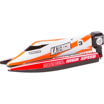 Invento Products & Services Gmbh RC Mini Race Boat Red Toys/Spielzeug