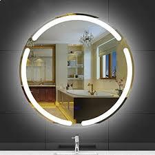dfghbn angeführt badezimmerspiegel rund beleuchtete led