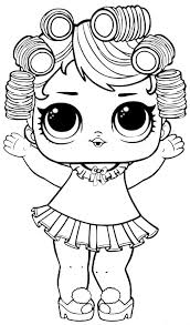 Destiny Lol Doll Coloring Pages L O Surprise LUXE Dolls Books For