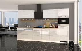 küchenzeile hamburg küche mit e geräten breite 330 cm hochglanz weiß weiß