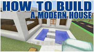 Minecraft Pe Living Room Designs by How To Build An Easy Modern House In Minecraft Xbox Mc Pe Ps3 Pc