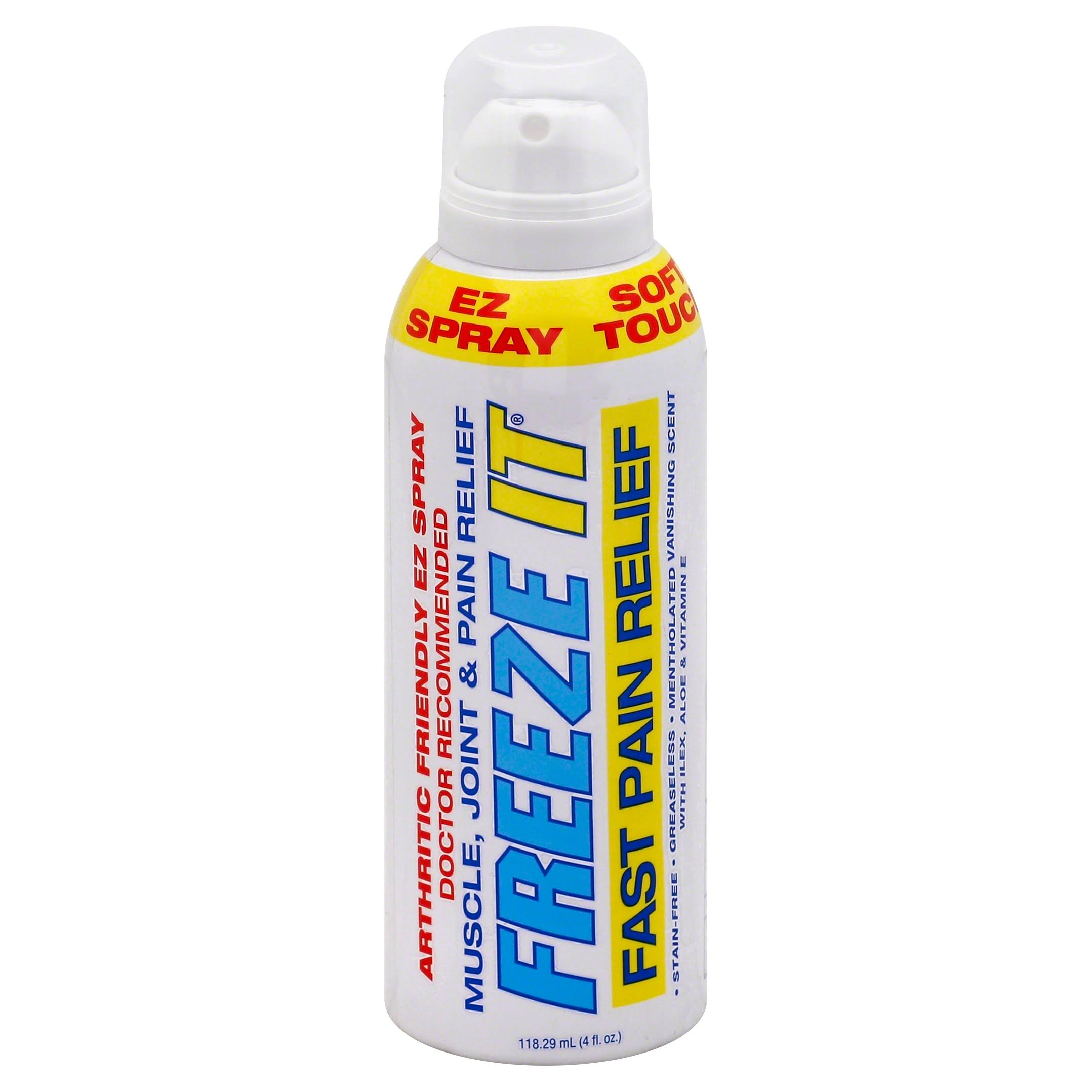 Freeze It Advanced Therapy Pain Relief Spray - 4oz