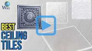 Cutting Genesis Ceiling Tiles by Top 10 Ceiling Tiles Of 2017 Video Review