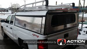 Chev Silverado With Installed Diamond Edition Series Cap By A.R.E. ...