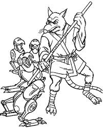 Free Teenage Mutant Ninja Turtle Coloring Pages