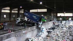 Garbage Trucks At The Dump: Part 1 - YouTube