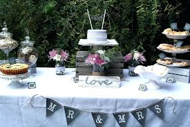 Kitchen Tea Decoration Ideas Rustic Bridal Shower Party Oh