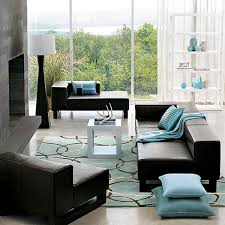 Tiffany Blue Living Room Ideas by Living Room Decor Brown And Blue Interior Design