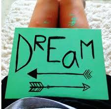 DIY Canvas Painting Dorm Decor Dream Arrow