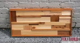 scrap wood wall fixthisbuildthat