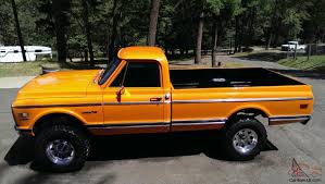 1971 Chevy K Truck In Orange. A Bright, Bright Orange. I Like ... 1971 Chevy C10 2year Itch Truckin Magazine Gm Pickup Truck Sales Brochure 1967 1968 1969 Chevrolet C K 1970 1972 Spuds Garage C30 Ramp Funny Car Hauler Headlight Wiring Diagram Wire Center Sold Cheyenne Shortbox Ross Customs Ck 10 Questions How Much Is A Chevy Pickup Bides On Trucks Bangshiftcom Greatness A That Black Factory Ac
