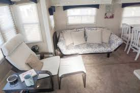 RV Fifth Wheel Camper Furniture Remodel