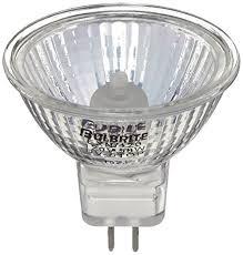 bulbrite exn 120 50 watt 120 volt halogen mr16 bi pin lensed