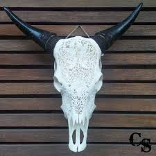 Decorated Cow Skulls Pinterest by 10 Best Carved Cow Skulls Images On Pinterest Cow Skull Animal