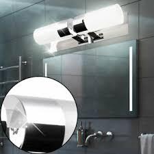 wandleuchten led bad spiegel licht wand le chrom leuchte