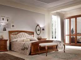 schlafzimmer klassik kirschbaum holz schrank bett nachttisch