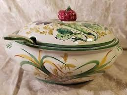 Pumpkin Soup Tureen And Bowls by Soup Tureen Italy Zeppy Io