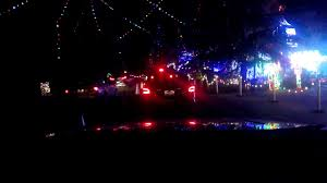 Christmas Tree Lane Fresno by Christmas Tree Lane Fresno Ca Youtube