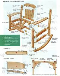 Adirondack Rocking Chair Woodworking Plans by 30 Excellent Woodworking Plans Rocking Chair Egorlin Com