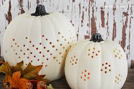 50 Great Pumpkin Carving Ideas You Won U0027t Find On Pinterest by Decorative Drilled Pumpkins Instructions Recipe Pumpkin