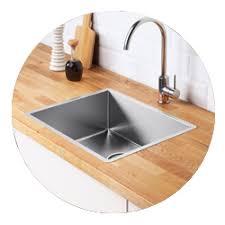 mitigeurs robinets de cuisine et éviers eviers ikea