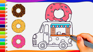 How To Draw Donut Food Truck - Active Kids TV Cars And Trucks Coloring Pages Unique Truck Drawing For Kids At Fire How To Draw A Youtube Draw Really Easy Tutorial For Getdrawingscom Free Personal Use A Monster 83368 Pickup Drawings American Classic Car Printable Colouring 2000 Step By Learn 5 Log Drawing Transport Truck Free Download On Ayoqqorg Royalty Stock Illustration Of Sketch Vector Art More Images Automobile