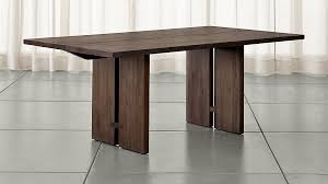 monarch shiitake dining tables crate and barrel