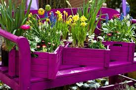 Painted Wood Crate Planter FabArtDIY Wine Ideas And Projects5