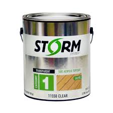 Seal Krete Floor Tex Home Depot by Storm System 1 Gal Clear Exterior Premium 100 Acrylic Latex Top