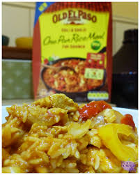 El Paso Pumpkin Patch by Chili U0026 Garlic One Pan Rice Mix By Old El Paso