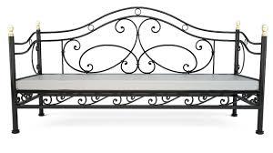 canapé lit fer forgé canapé lit design en fer forgé salon iron work