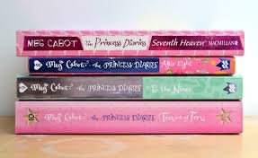 Books 7 8 9 And 10 Of The Princess Diaries Series