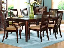 Cherry Dining Table 6 Chairs Room Wood Used