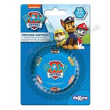 Paw Patrol 339242Pack Of 50Paper Cupcake Cases Blue 5x 3cm B01C72FCRO