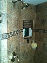 new ta florida bathroom shower floor tile remodel niche