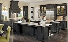 Kitchen Pretty Custom Black Kitchen Cabinets Unique Inspiration