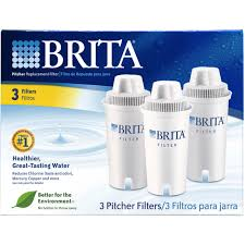 Brita Water Filter Faucet Attachment by Brita Pitcher Replacement Filters 3 Pk Water Filtration Ice