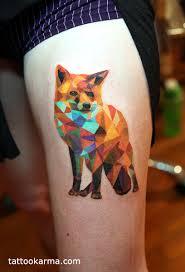 Tags Geometric Fox Tattoo Abstract