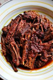 Slow Cooker Barbecue Beef Brisket L SimplyScratch