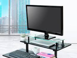 Monitor Shelf For Desk by Universal Monitor Riser Shelf 22 X 8 25 In Monoprice Com
