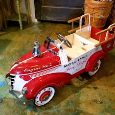 Vintage Pedal Fire Truck - Matco Tools – Vintage Arts Inc. Goki Vintage Fire Engine Ride On Pedal Truck Rrp 224 In Classic Metal Car Toy By Great Gizmos Sale Old Vintage 1955 Original Murray Jet Flow Fire Dept Truck Pedal Car Restoration C N Reproductions Inc Not Just For Kids Cars Could Fetch Thousands At Barrett Model T 1914 Firetruck Icm 24004 A Late 20th Century Buddy L Childs Hook And Ladder No9 Collectors Weekly Instep Red Walmartcom Stuff Buffyscarscom Page 2